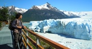 El glaciar Perito Moreno desde las pasarelas - El Calafate